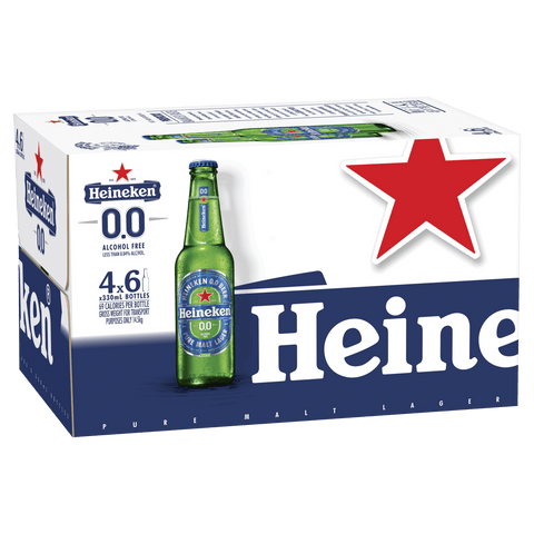 Heineken 0.0 Bottles 330ml