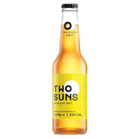 Two Suns Premium Dry Lager 330ml