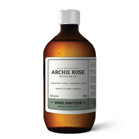 Archie Rose Hand Sanitiser 500ml
