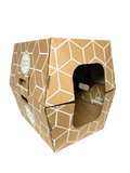 BIODEGRADABLE LITTER BOXES - 10 PACK BROWN - Cats Desire Disposable Cat Litter Boxes