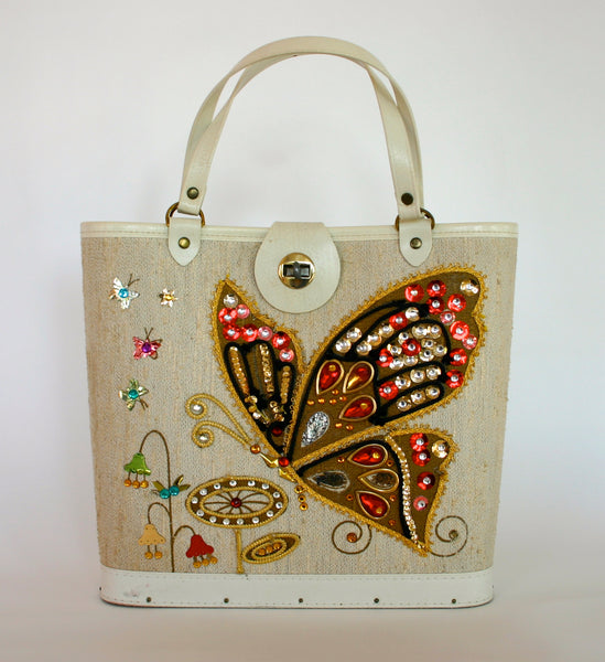 Enid Collins Butterfly Purse