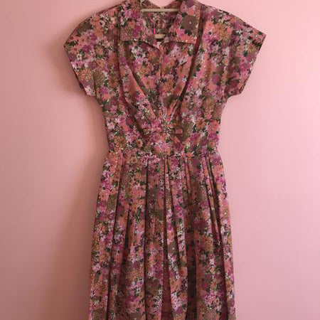 Pretty Floral Dress SOLD