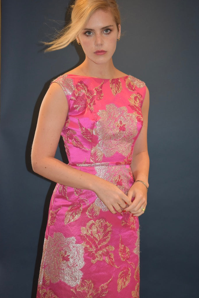 60s Brocade Gown SOLD – Cheeky Vintage