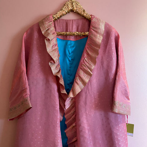 Cheeky Upcycled Ruffled Duster