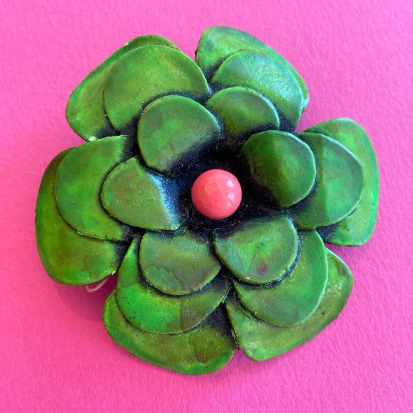 Vibrant Flower Broach