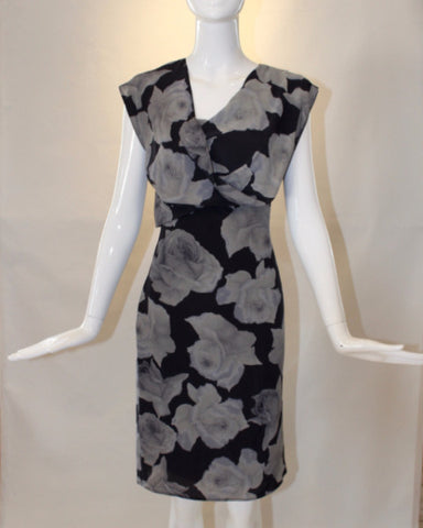 Lanvin Floral Sheath Dress