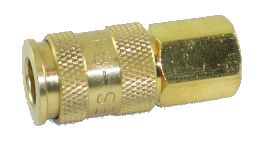 Quick Connect Coupling Female, Brass (Universal)  844-F