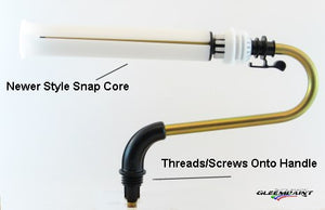 Roller Arm Assembly with Snap Core