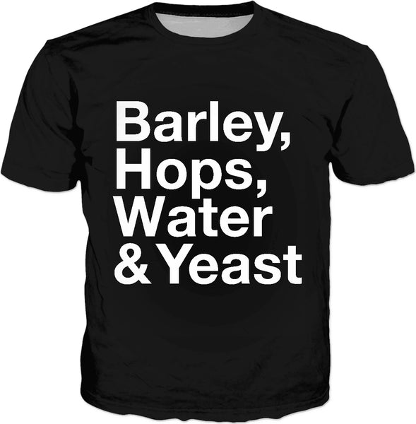 Barley Hops Water Yeast