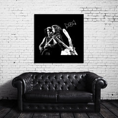 Steven Tyler and Joe Perry Canvas Wrap