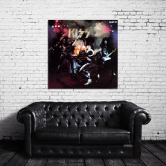 KISS Alive Canvas Wrap