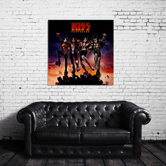 KISS Destroyer Canvas Wrap