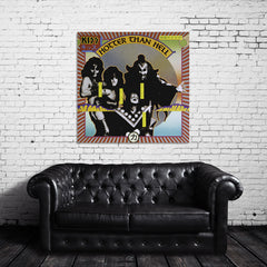 KISS Hotter Than Hell Canvas Wrap