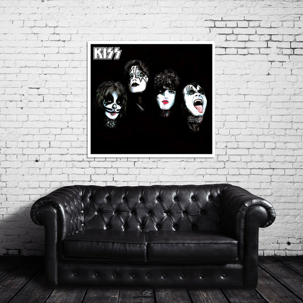 KISS Faces Canvas Wrap