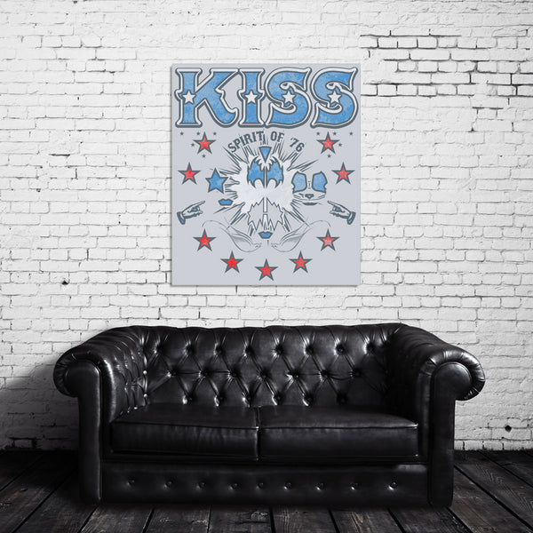KISS: Spirit of '76 Canvas Wrap