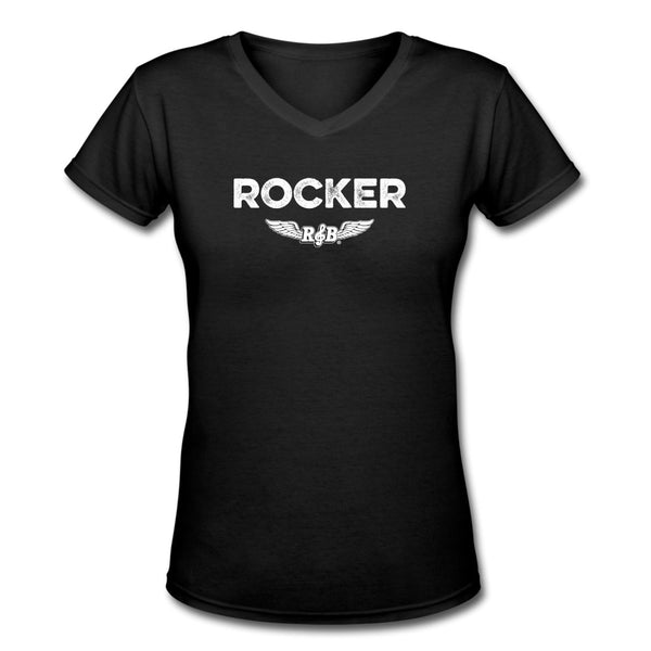 Rocker Women's V-Neck
