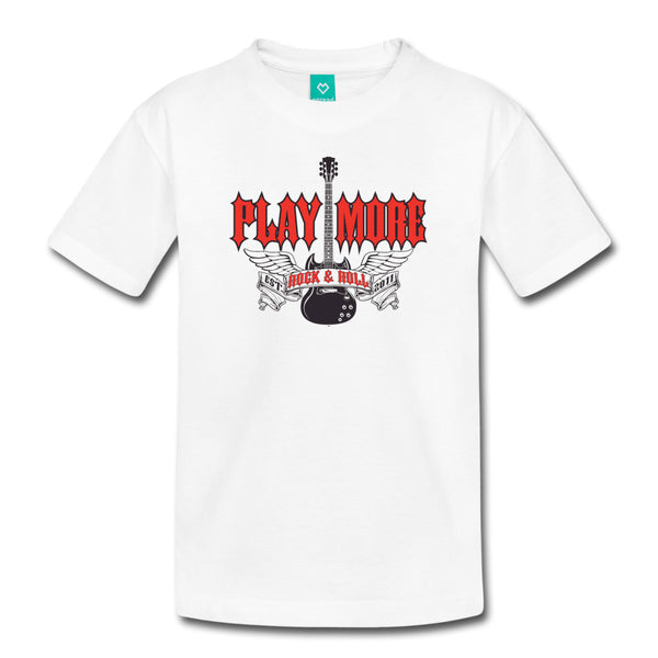 Play More Kid's Tee