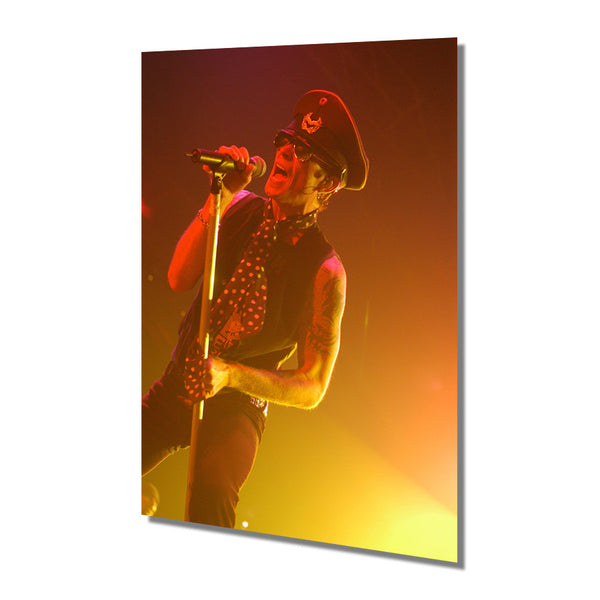 Scott Weiland Live Photo Metal Print