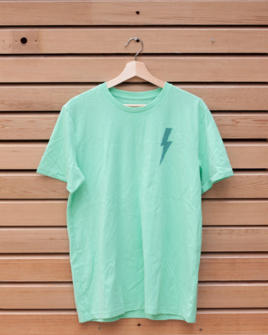 Spilt Milk Festival 'Bolt' T-shirt (Green)