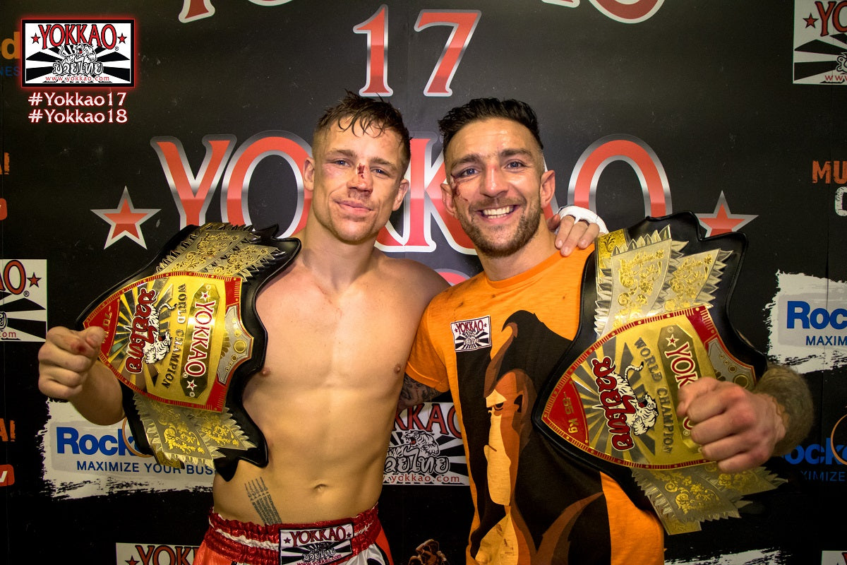 Two World Titles. Two Events. One night in Bolton - YOKKAO 23/24