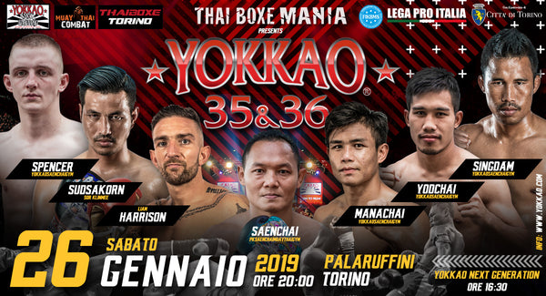 Star-Studded Lineup Confirmed for YOKKAO 35 - 36