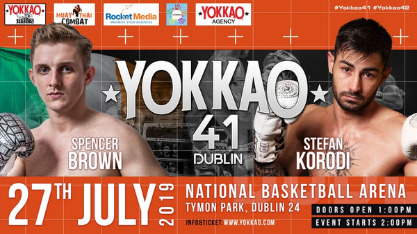 YOKKAO 41: Spencer Brown vs Stefan Korodi