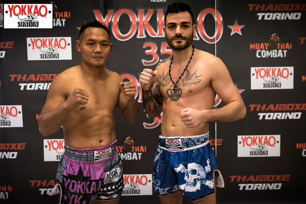 YOKKAO 35 - 36 Weigh-in Results