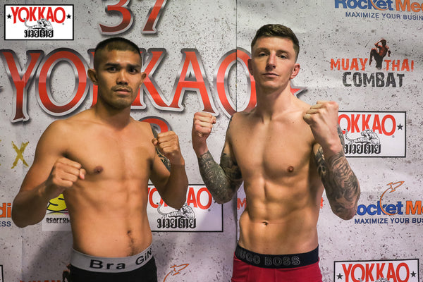 YOKKAO 37 - 38 Weigh -In Results