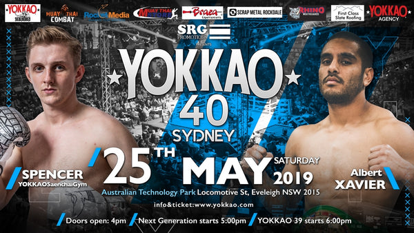 Xavier: I Come To Win The Fight Against Spencer at YOKKAO 40