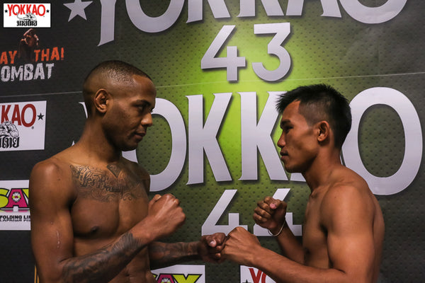 YOKKAO 43-44 Weigh-in Results