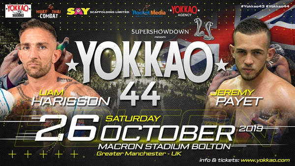 YOKKAO 44 Main Event: Liam Harrison vs Jeremy Payet