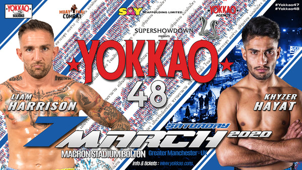 "Khyzer ""The Destroyer"" To Face Liam Harrison at YOKKAO 48"