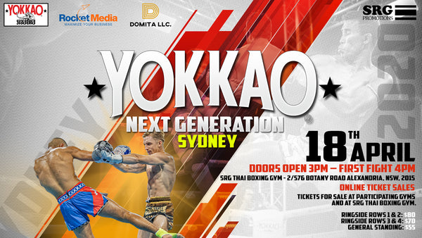 YOKKAO Next Generation Returns to Sydney on 18 April