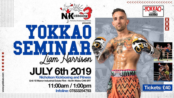 YOKKAO Seminar with Liam Harrison Set for 6 July in Wales