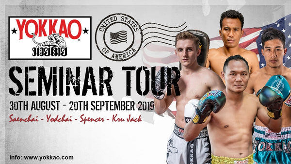 Team YOKKAO Confirmed for YOKKAO Seminar USA Tour