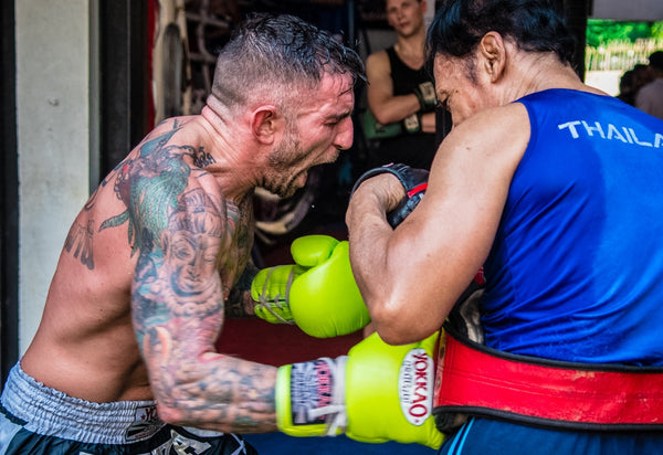 Liam Harrison Back At YOKKAO Camp In Preparation for Italy