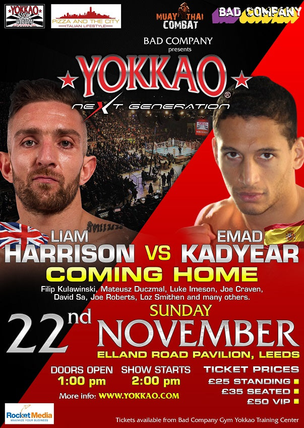 YOKKAO Next Generation: First Event in Leeds on November 22nd!
