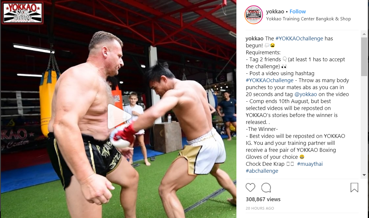 YOKKAO Launches Viral Contest on Instagram
