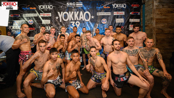 YOKKAO 39 - 40 Weigh-in Results