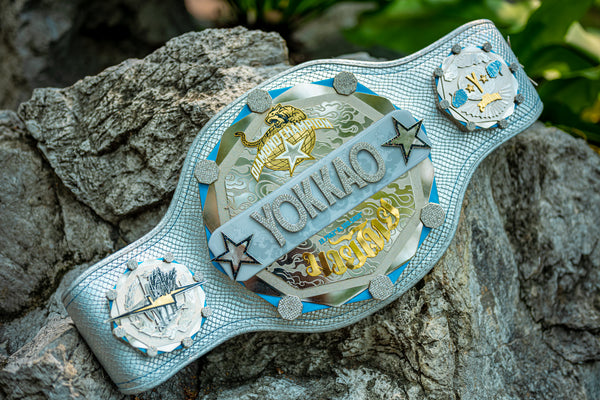 YOKKAO Introduces the Diamond Championship Belt