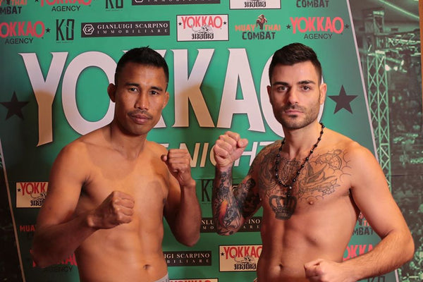 YOKKAO FIGHT NIGHT BOLOGNA WEIGH-IN RESULTS