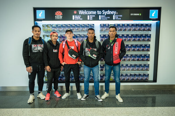 YOKKAO Team Has Landed in Sydney, Australia!