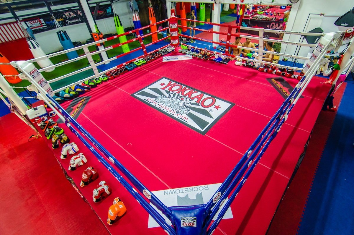 Muay Thai Rules Ring