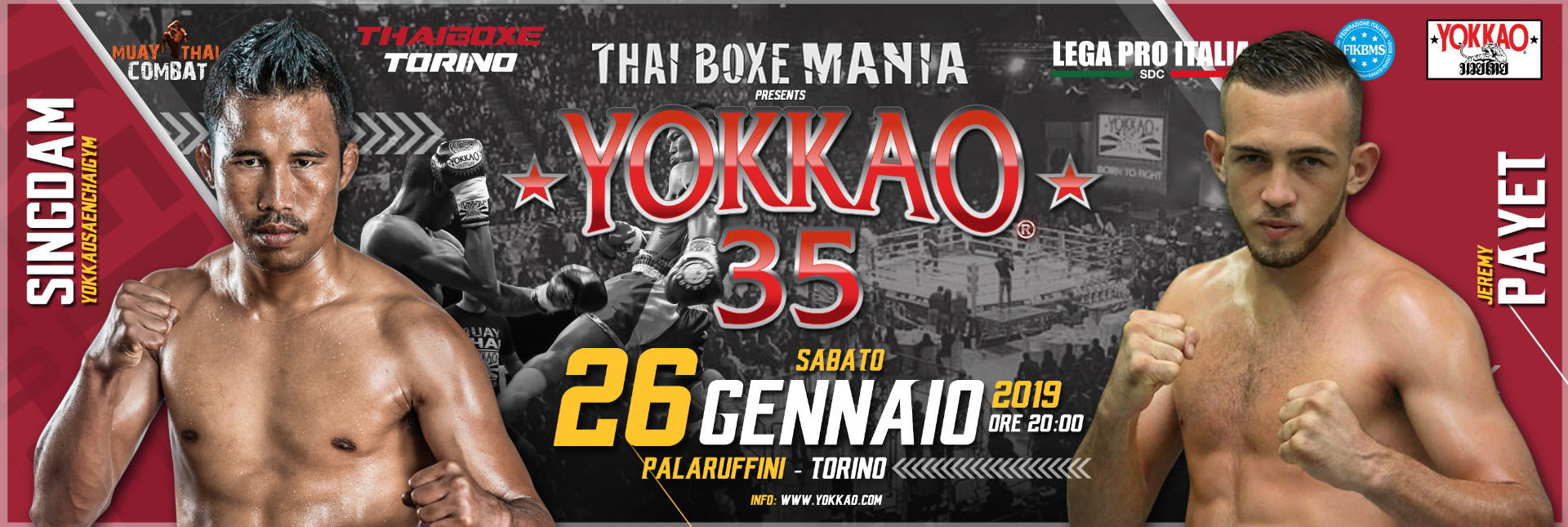YOKKAO 35 Muay Thai Results