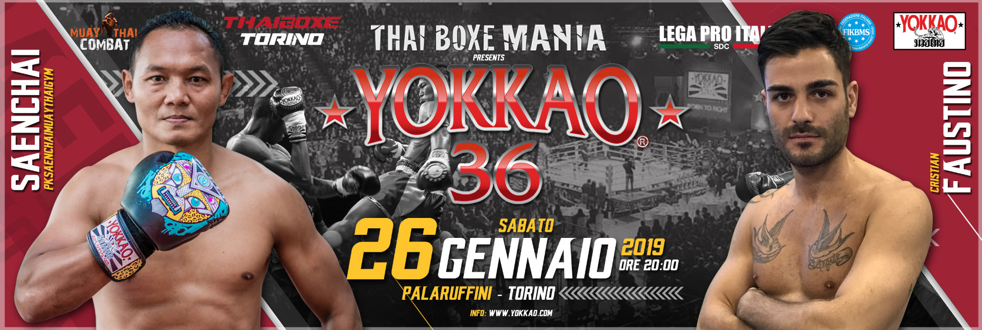 YOKKAO 36 Muay Thai Results