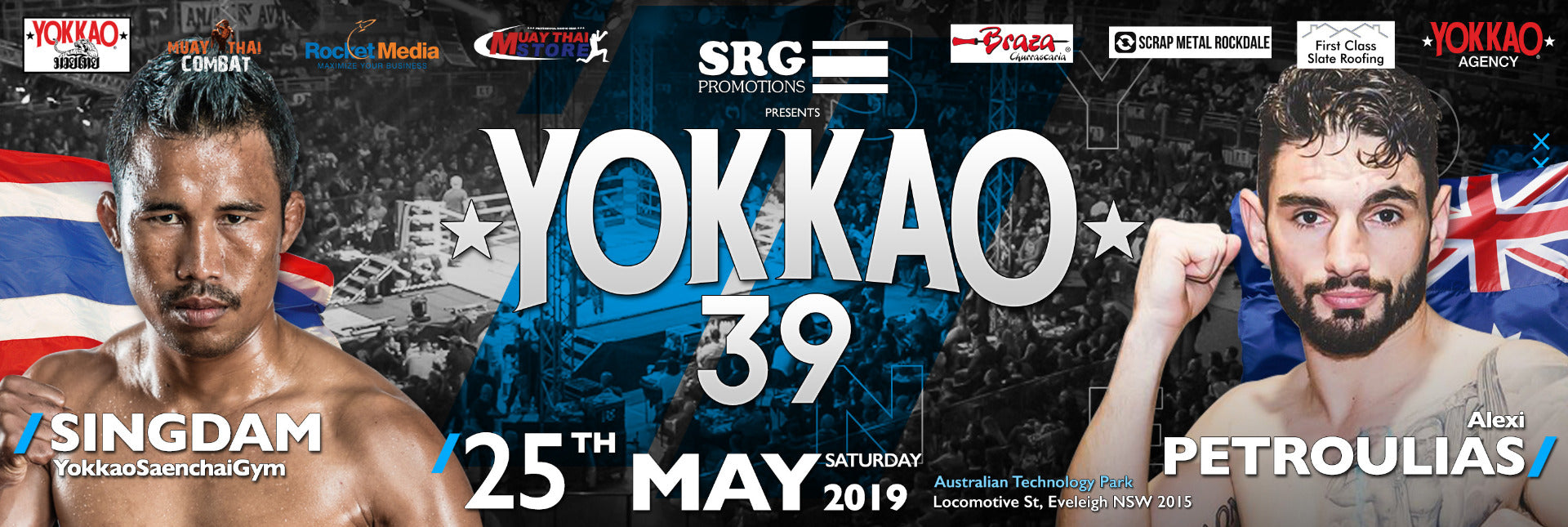 YOKKAO 39 Muay Thai Results