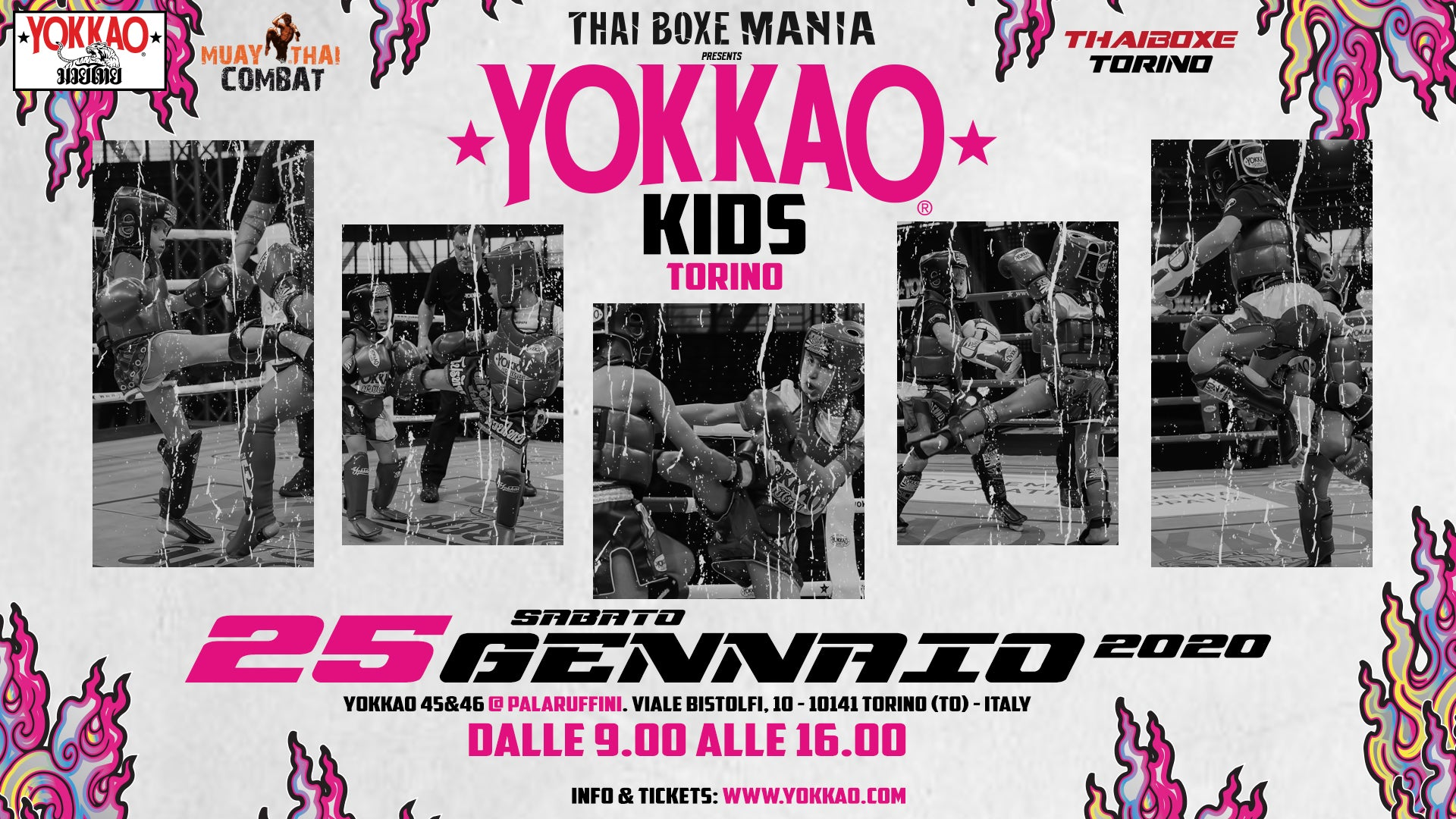 YOKKAO Kids Torino January 2020