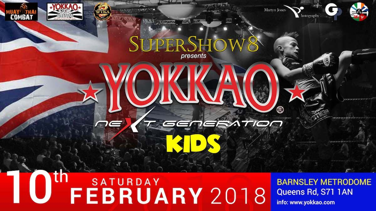 YOKKAO Next Generation Kids February 2018 England