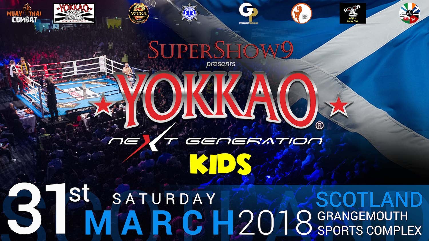 YOKKAO Next Generation Kids in Scotland