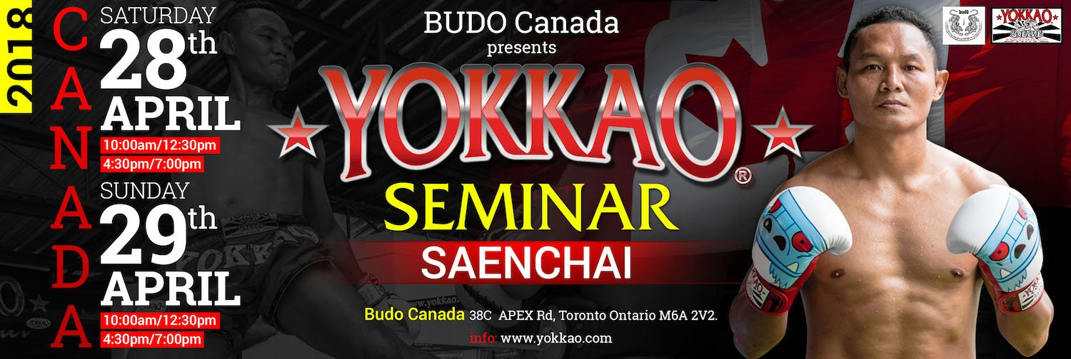 Yokkao Seminar With Saenchai In Toronto